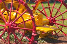 Free Antique Tractor Royalty Free Stock Photo - 102005