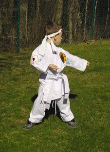 Free Karate Kid Stock Images - 105834