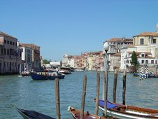 Free Canale Grande Royalty Free Stock Image - 106016