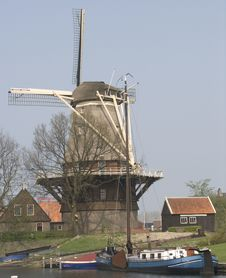Free Dutch Windmill Stock Photo - 107980