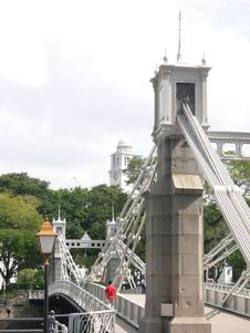 Free Architecture - Bridge And The Victoria Memorial Hall Stock Images - 108484