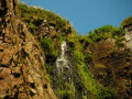 Free Cliff Top Waterfall Royalty Free Stock Photos - 1006838