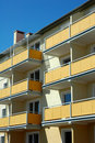 Free Block Of Flats... Stock Photography - 1007522