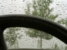 Free Rain On Car Windshield 22 Stock Photo - 1000280