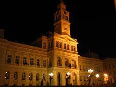 Free Night Town Hall - Arad, Romania Stock Photo - 1000430