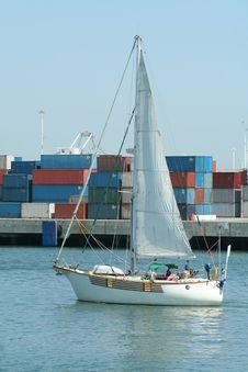 Free Sailboat Royalty Free Stock Image - 1001126