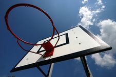 Free Basket Ball Royalty Free Stock Photo - 1001425