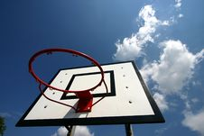 Free Basket Ball Royalty Free Stock Image - 1001436
