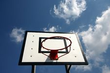 Free Basket Ball Royalty Free Stock Photography - 1001437