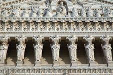 Free Basilica Fourviere - Triangular Pediment (Lyon France) Royalty Free Stock Photos - 1001618