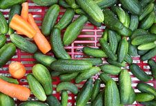 Gherkins Royalty Free Stock Images