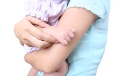 Free Baby S Hand 1 Royalty Free Stock Photography - 1002367