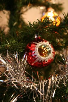 Free Christmas Tree Decorations Stock Photography - 1002642