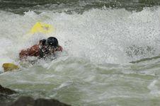 Free Whitewater Kayaker Stock Images - 1003324