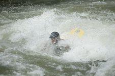 Free Whitewater Kayaker Stock Photos - 1003333