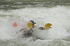 Free Whitewater Kayaker Royalty Free Stock Photos - 1003358