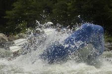 Free Whitewater Rafters Stock Photography - 1003372