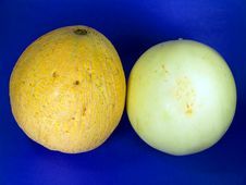 Free Cantaloupe & Honey Dew Melons Stock Image - 1003651