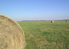 Free Bales Of Hay Royalty Free Stock Photography - 1003797