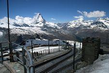 Free Mountain Train Stock Photos - 1003823