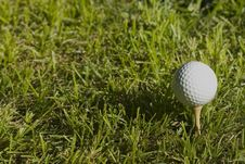 Free Golfball1 Royalty Free Stock Photos - 1005548