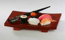 Free Sushi Platter Royalty Free Stock Photography - 1005587
