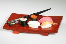 Free Sushi Platter Royalty Free Stock Photos - 1005588