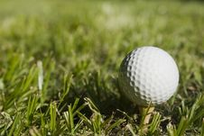 Free Golfball2 Royalty Free Stock Photo - 1005645