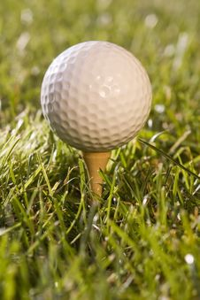Free Golfball9 Stock Photography - 1005992