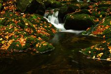 Free Autumn Stream In Giant Mountains Stock Images - 1006444