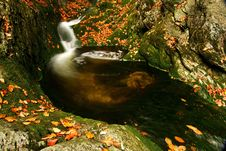 Free Autumn Stream In Giant Mountains Royalty Free Stock Photography - 1006787