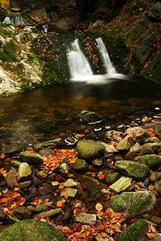 Free Autumn Stream In Giant Mountains Stock Photo - 1006790