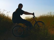 Free Rider Stock Image - 1006921
