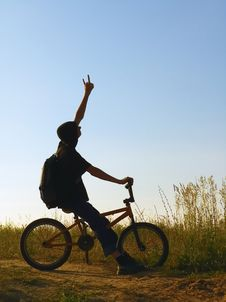 Free Rider Stock Image - 1006961