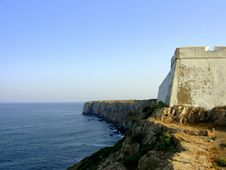 Free Fort Of Sagres Royalty Free Stock Image - 1007066