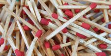 Free Pile Of Matches 2 Royalty Free Stock Photo - 1007775