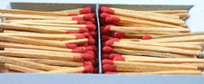 Free Pile Of Matches In Box Royalty Free Stock Photography - 1007807