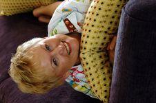 Free Smiling Senior Woman Stock Images - 1008224