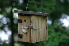 Free Out House Bird House Stock Photo - 1008660
