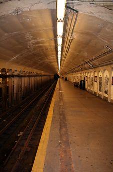 Free Subway Station Stock Image - 1009101
