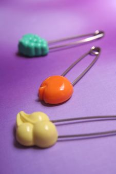 Safety-pin Stock Image