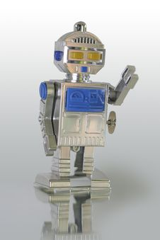 Free Toy Robot Royalty Free Stock Photos - 1009828