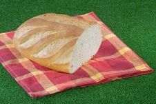 Free Bread On Grass Royalty Free Stock Image - 1009956