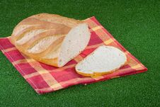 Free Bread On Grass Royalty Free Stock Photos - 1009988