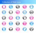 Free Collection Of Web Icons Royalty Free Stock Photography - 10000877