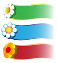 Free Floral Banners Royalty Free Stock Photo - 10007055