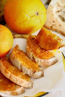 Free Orange Jam Stock Photography - 10000062