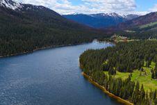 Free Mountain Lake Royalty Free Stock Image - 10000366