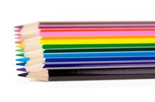 Free Aligned Pencils Stock Photography - 10000422