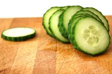 Free Cucumber Slices Stock Photo - 10001530